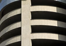 Car park. Abstract multi storey car park Stock Photography