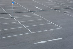 Car park Royalty Free Stock Photos