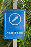 Car park. Royalty Free Stock Photos