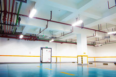 Car park interior Stock Photography