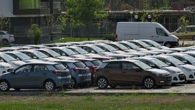 Car park Stock Images
