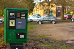 Car park machine Royalty Free Stock Images