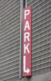 Car PARK sign Stock Photos