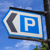 Car Park Sign Stock Photos