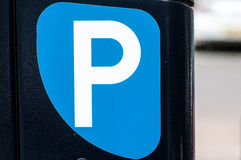 Car park sign Royalty Free Stock Image