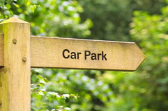 Car park sign royalty free stock photos