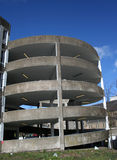 Car park spiral ramp Stock Photos
