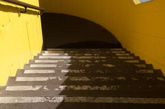 Car park stairs Stock Photo