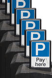 Car park ticket machine Royalty Free Stock Photo