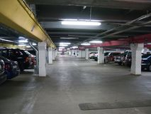 Car parking Royalty Free Stock Photos