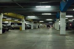 Car parking. Driving on vehicle traffic urban scene Stock Photos