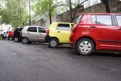 Car parking Stock Photography