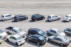 car parking Royaltyfri Bild