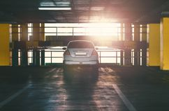 Car on parking Royalty Free Stock Photo
