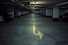 Car parking Royalty Free Stock Image