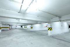 Car parking level Stock Image