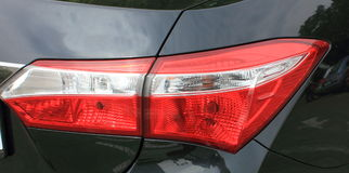 Car parking lights Royalty Free Stock Images