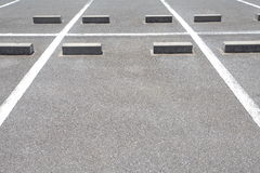 Car parking Lot Stock Image
