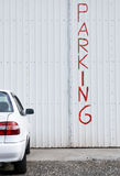 Car Parking place Royalty Free Stock Photo