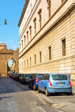 Car parking in Rome Stock Photography