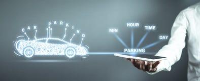 Car Parking Service. Searching Parking stock photos
