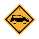 Car parking signal icon Stock Images