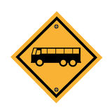 Car parking signal icon Royalty Free Stock Photo