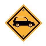Car parking signal icon Stock Image