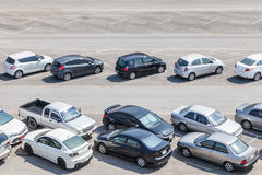 Car parking Royalty Free Stock Image