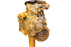 Car part,golden Royalty Free Stock Photography