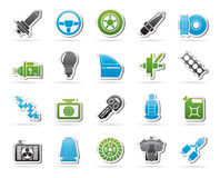 Car part and services icons  1 Stock Images