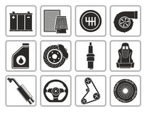 Car parts vector illustration