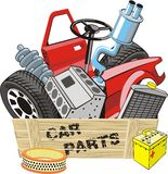 Car parts Stock Photos
