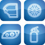 Car parts Stock Photography