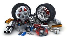 Free Car Parts Royalty Free Stock Photo - 56403945
