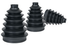 Car parts black dust boot Royalty Free Stock Image