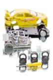 Car parts children's designer Stock Photos