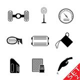 Car Parts icon set 2 Stock Photography