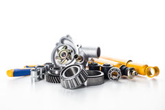 Car parts isolated royalty free stock photo