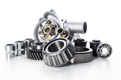 Car parts isolated Stock Images