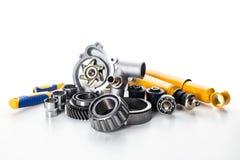 Car parts isolated Stock Photo
