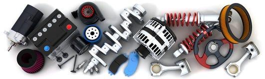 Car parts Royalty Free Stock Photo