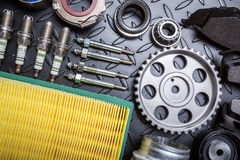 Car parts Royalty Free Stock Photography