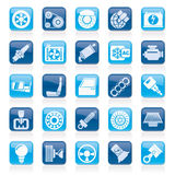 Car parts and services icons Stock Photos
