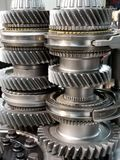 Car parts. Vehicle car transmission parts new royalty free stock photos