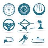 Car parts royalty free illustration