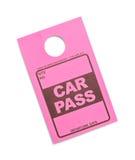 Car Pass Stock Photography