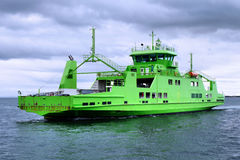 Car Passenger Ferry A1. Car Passenger ferry underway at sea Stock Photos