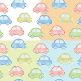 Car pattern for kids Royalty Free Stock Photography
