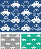 car pattern seamless Vector Illustration